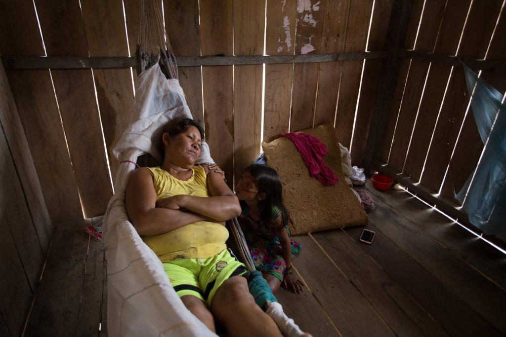 Assistência de saúde é precária na Terra Indigena Vale do Javari, no Amazonas (Bruno Kelly/Amazônia Real)