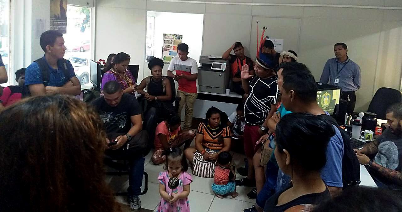 Alunos indígenas e quilombolas ocupam UFOPA contra corte de bolsas no Pará