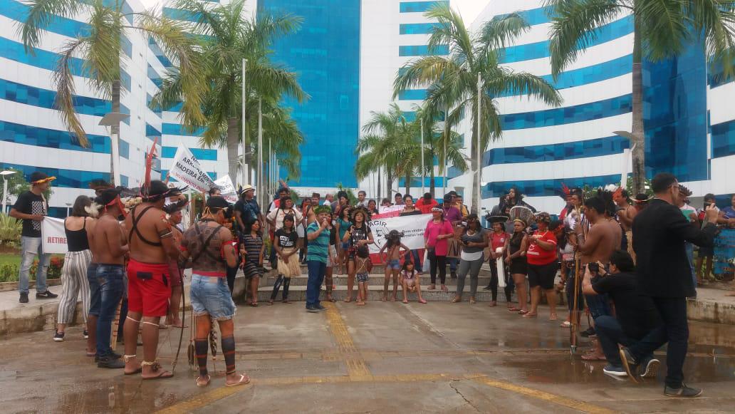 Protesto em Rondônia lembra que mais da metade das terras indígenas continua sem demarcação