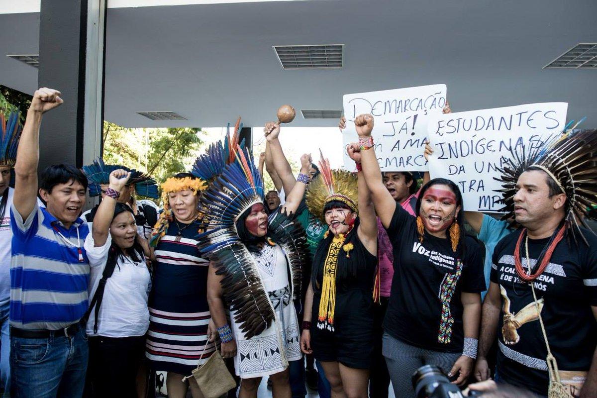 Especial: Indígenas ocupam as ruas do País para protestar contra Bolsonaro