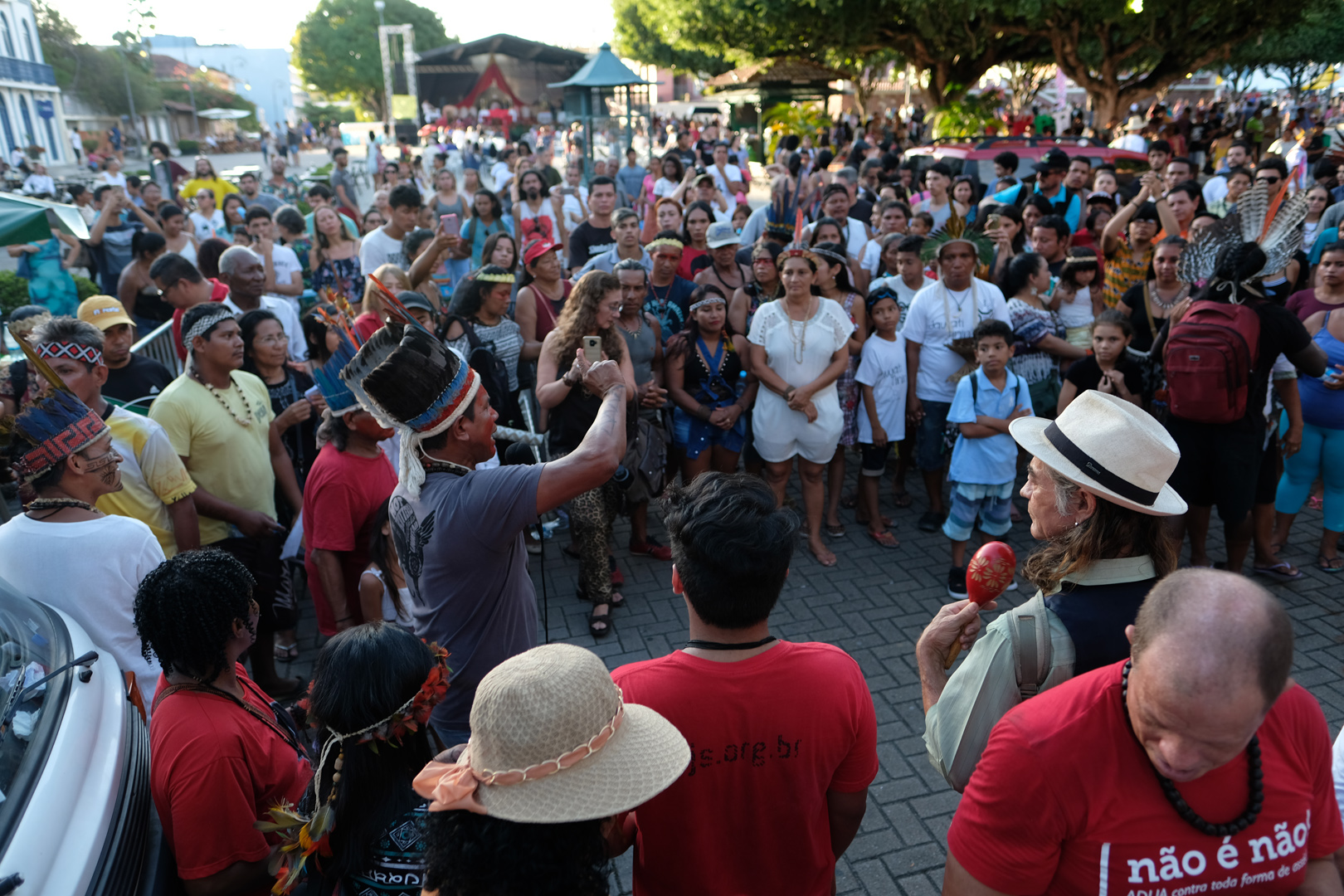 Em Manaus, protesto inicia campanha de resistência contra retrocessos na política indigenista