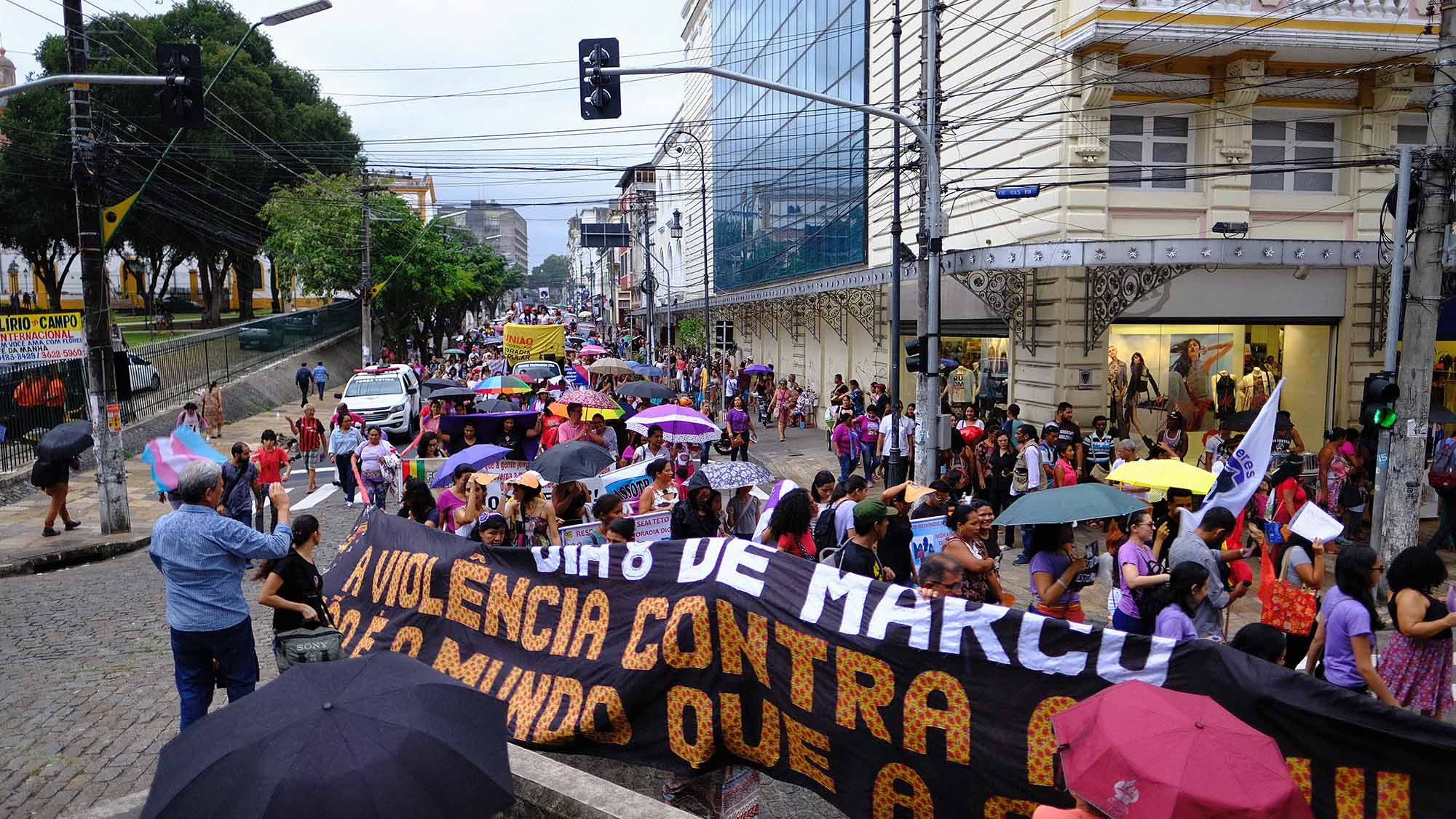 Mulheres cobram mais igualdade e fim da violência na Amazônia