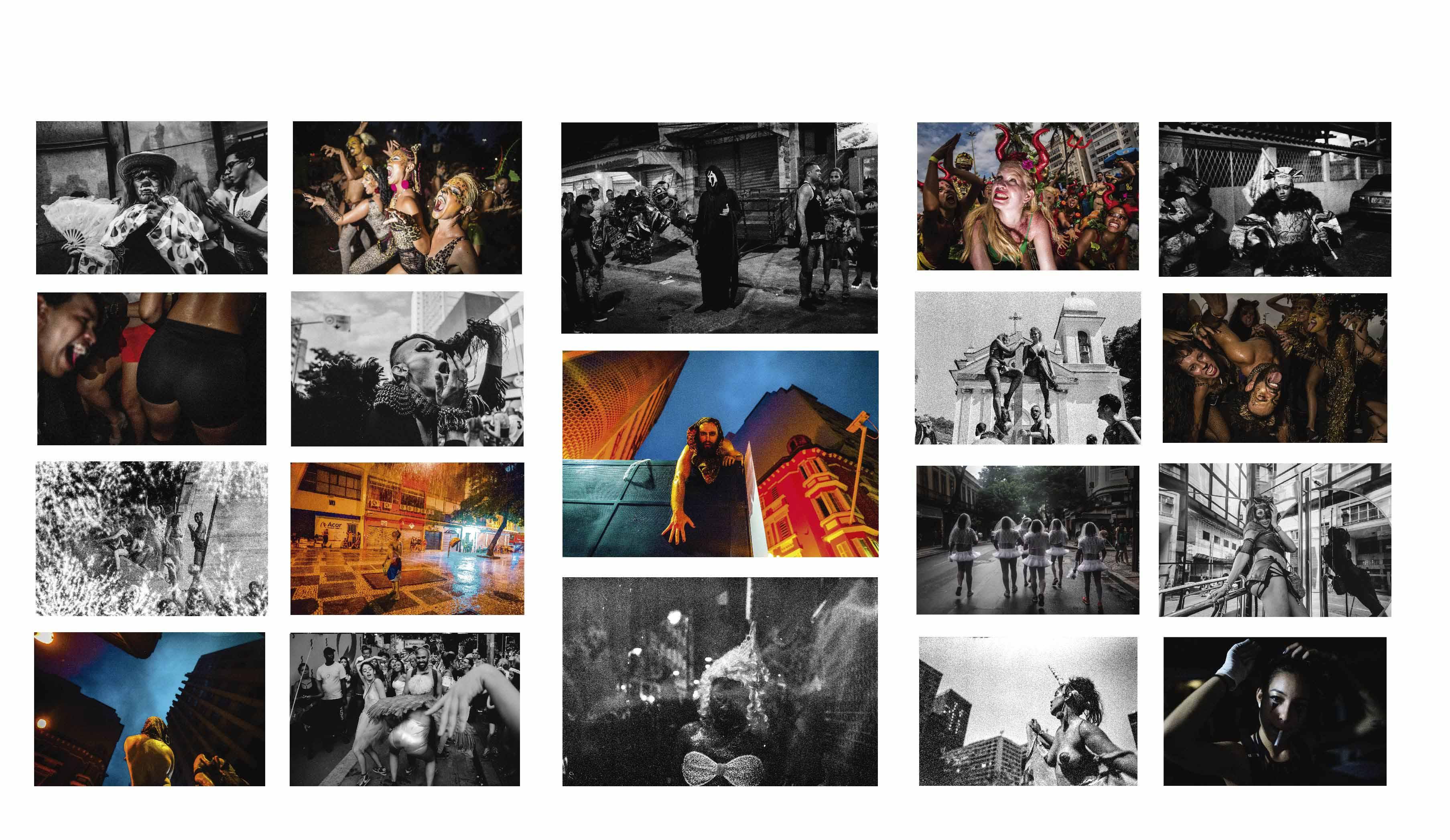 """Palacete recebe exposição """"Atlas Momosyne"""", um levante artístico no Carnaval em tempos de intolerância"""