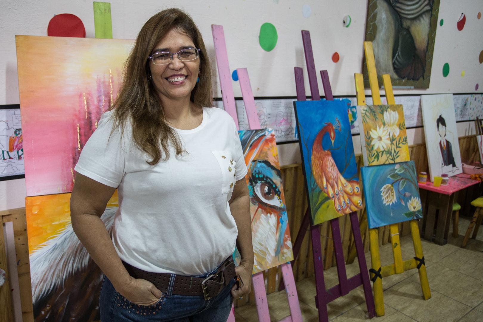 A artista manauara que recebeu uma carta do Papa Francisco