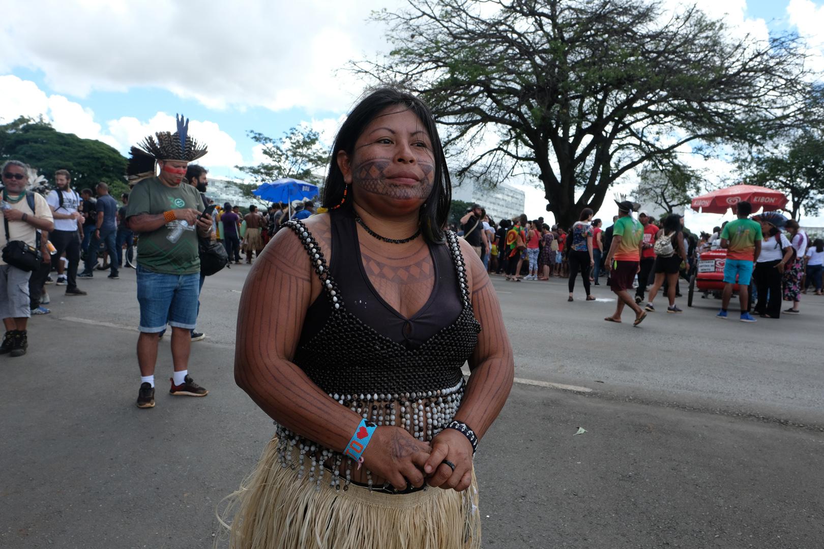 """""""Eles querem que a gente recue e fique com medo, mas não vou deixar de lutar"""", diz liderança Munduruku que teve a casa invadida"""