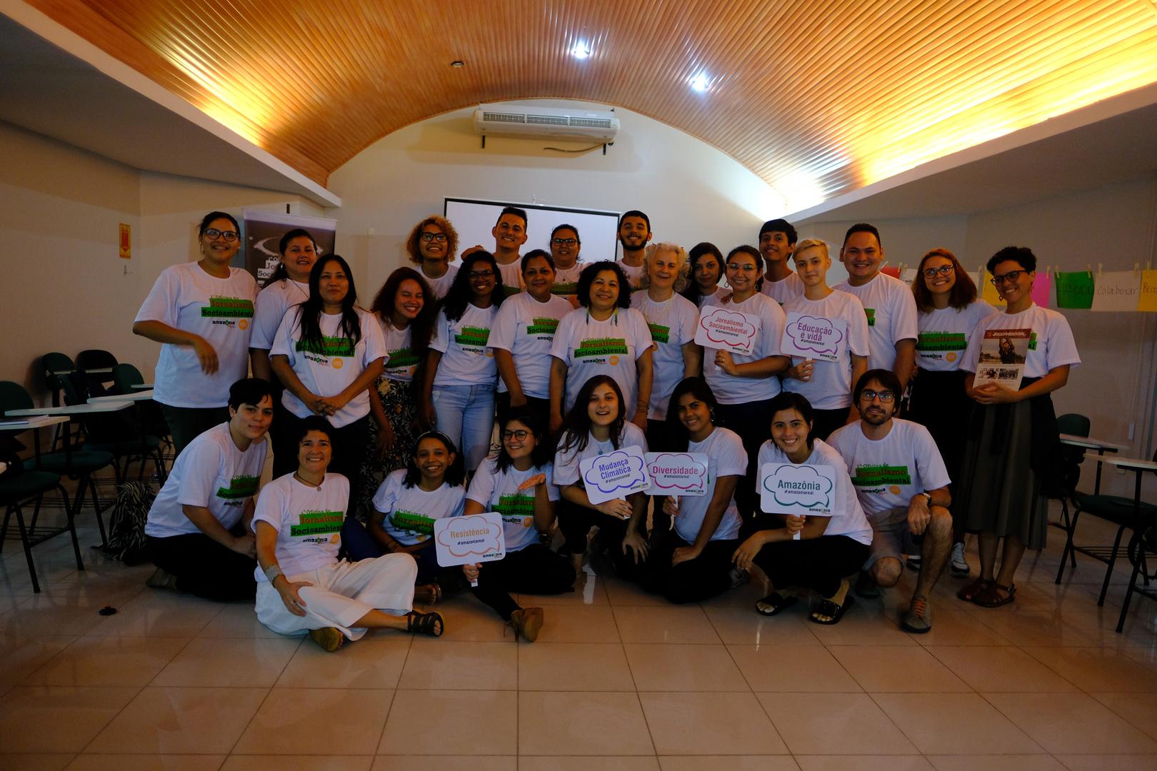 Alunos destacam o aprendizado e o impacto do jornalismo socioambiental após a oficina da Amazônia Real e Climate Tracker