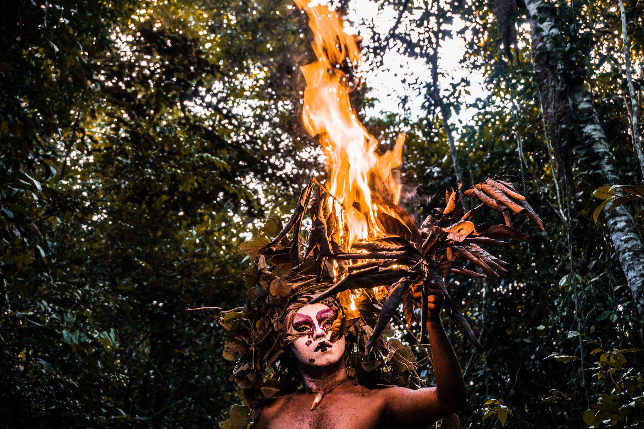 Uma prova de fogo para mulheres guerreiras