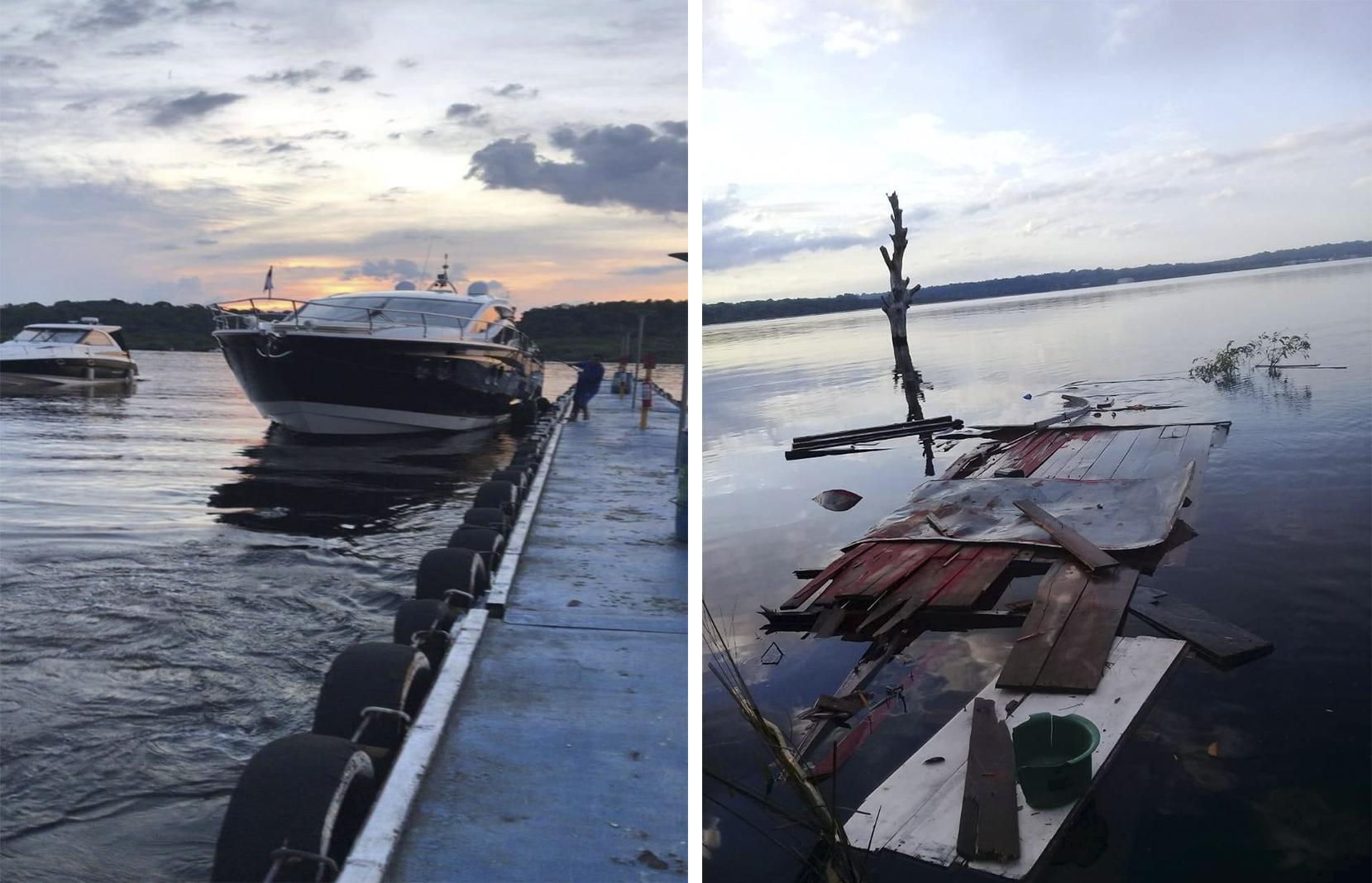 Acidente entre barcos deixa a liderança indígena Lutana Kokama internada na UTI, em Manaus