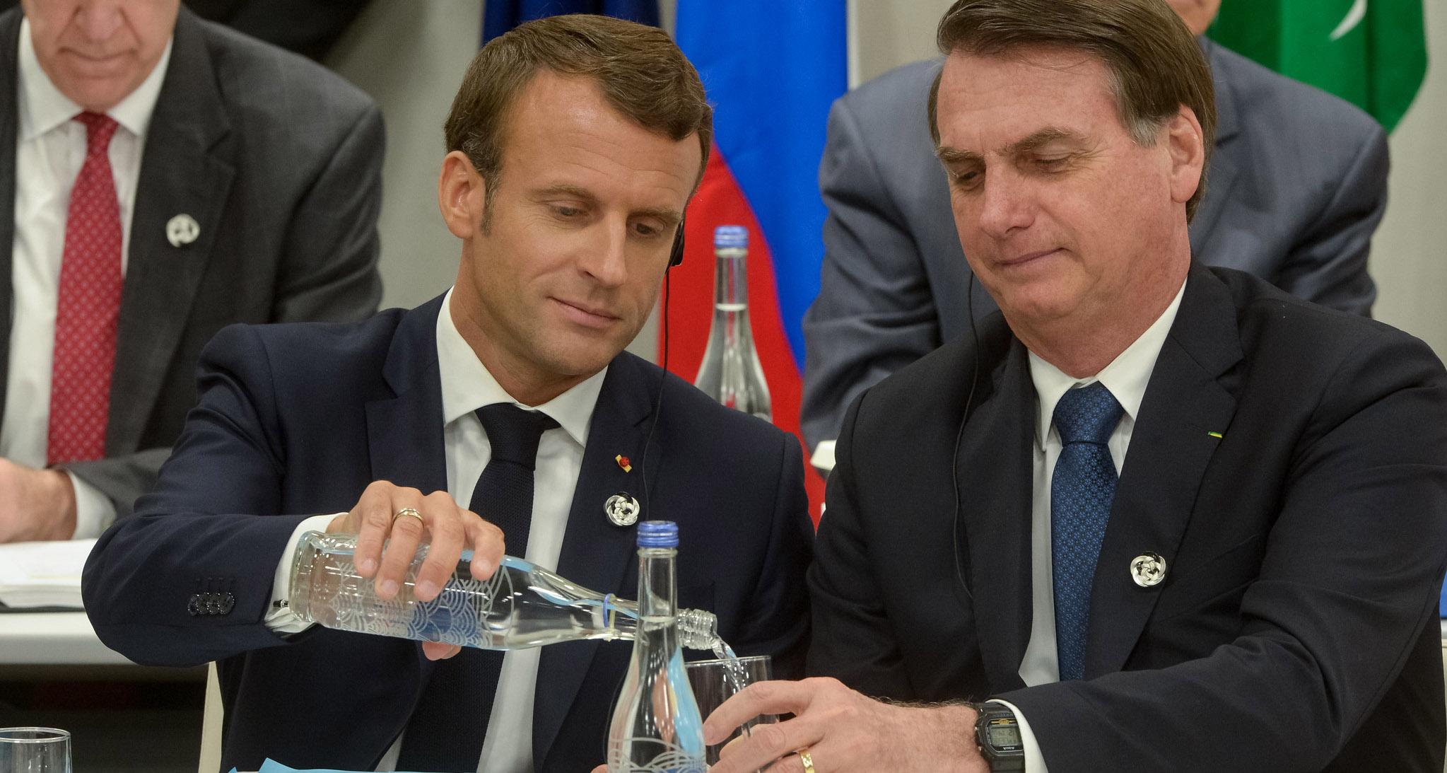 Aonde Levar Macron Amazonia Real