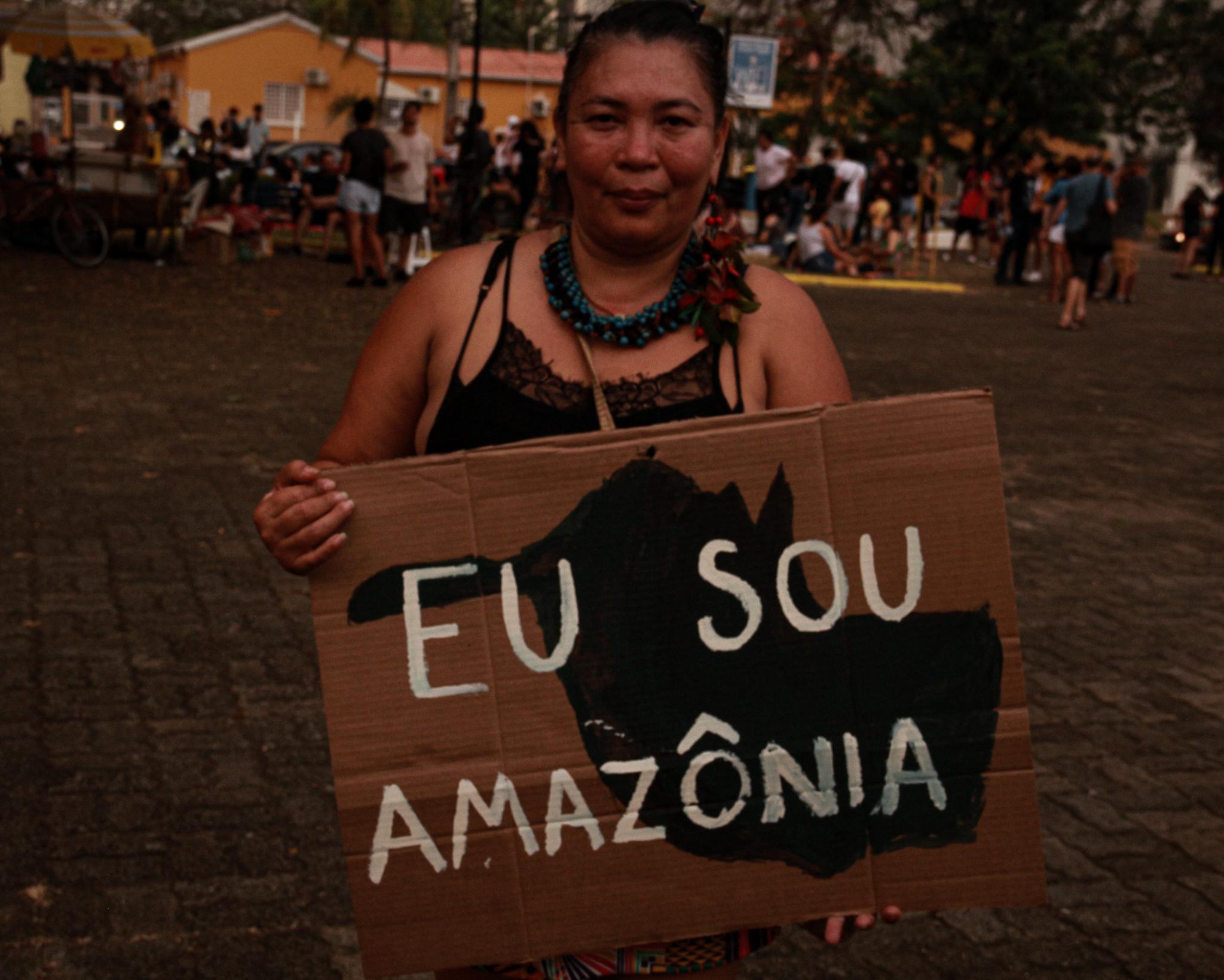 Amazônia em Chamas: Porto Velho tem ato em defesa do meio ambiente