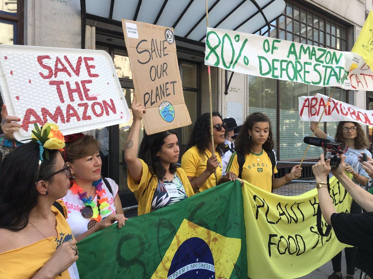 Amazônia em Chamas: manifestações a favor da floresta amazônica se espalham pelo mundo