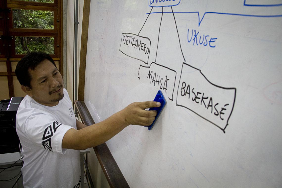 A visibilidade das línguas indígenas