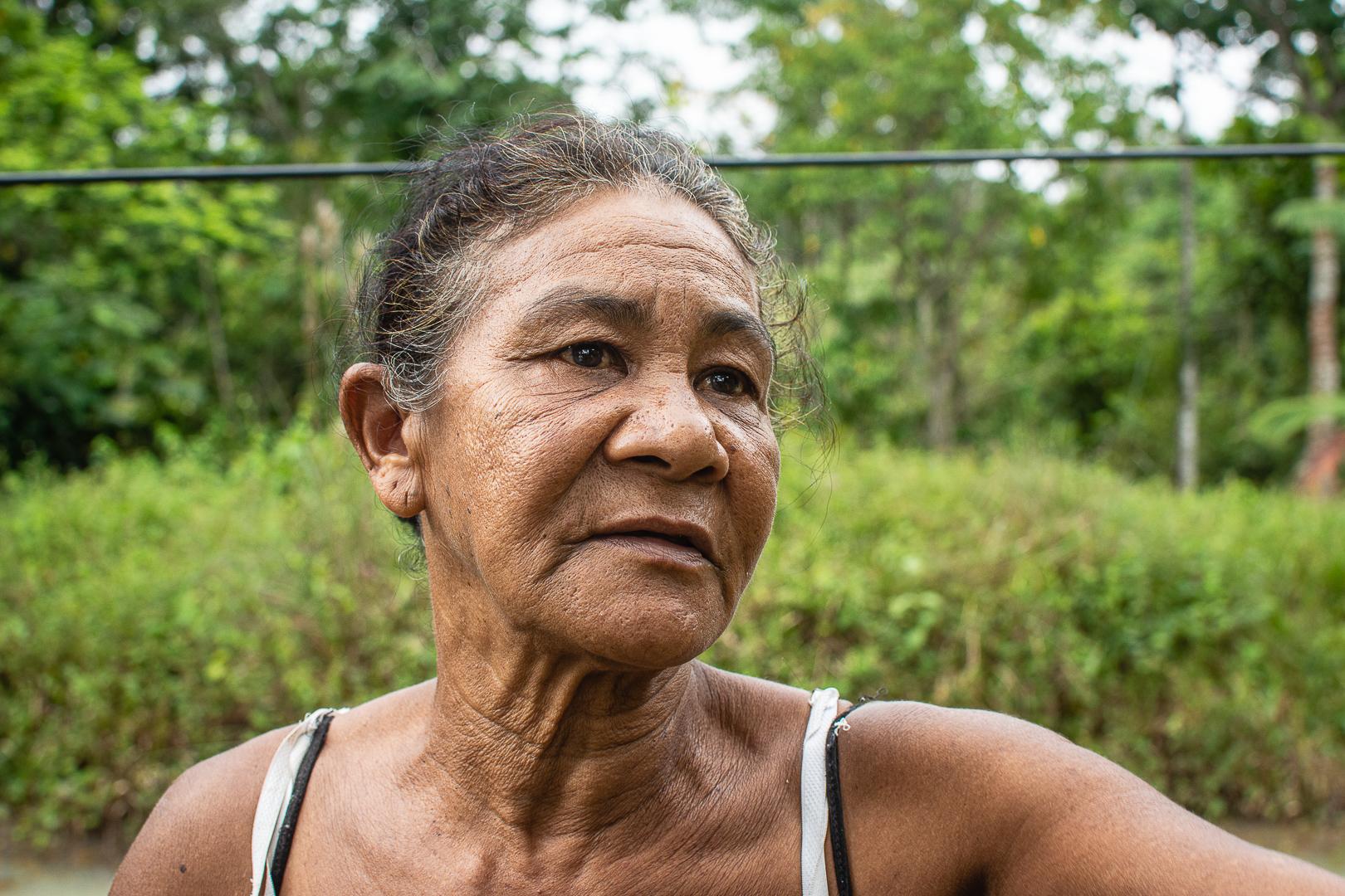 """Maria Salistiano Cardoso: """"tenho medo de morrer subterrada"""""""