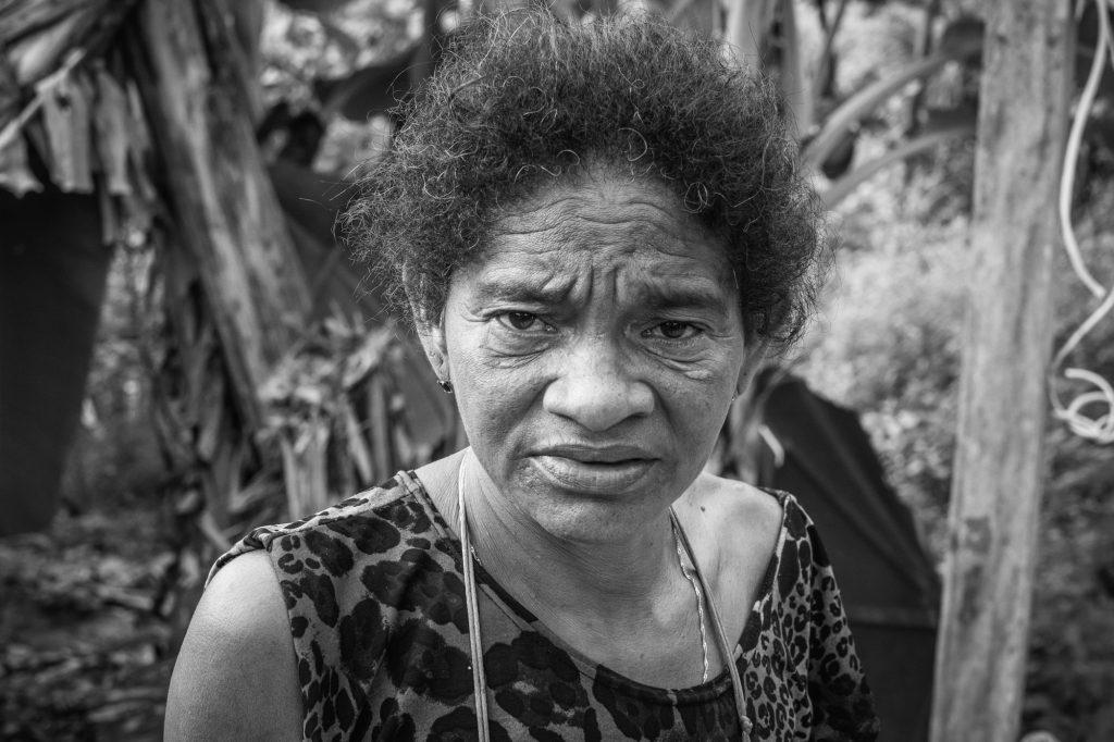 A quilombola Maria do Socorro Costa Silva, em foto de fevereiro de 2020 (Cícero Pedrosa Neto/Amazônia Real)