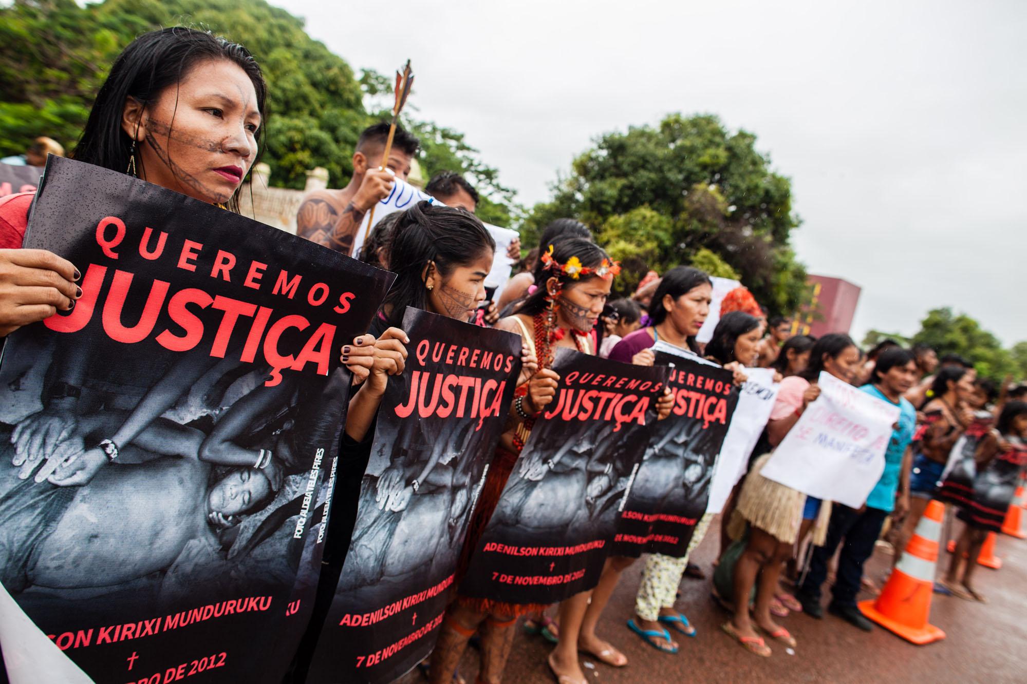 Em audiência sobre a morte de Adenilson Munduruku, delegado da PF nega autoria do crime; indígenas clamam por Justiça