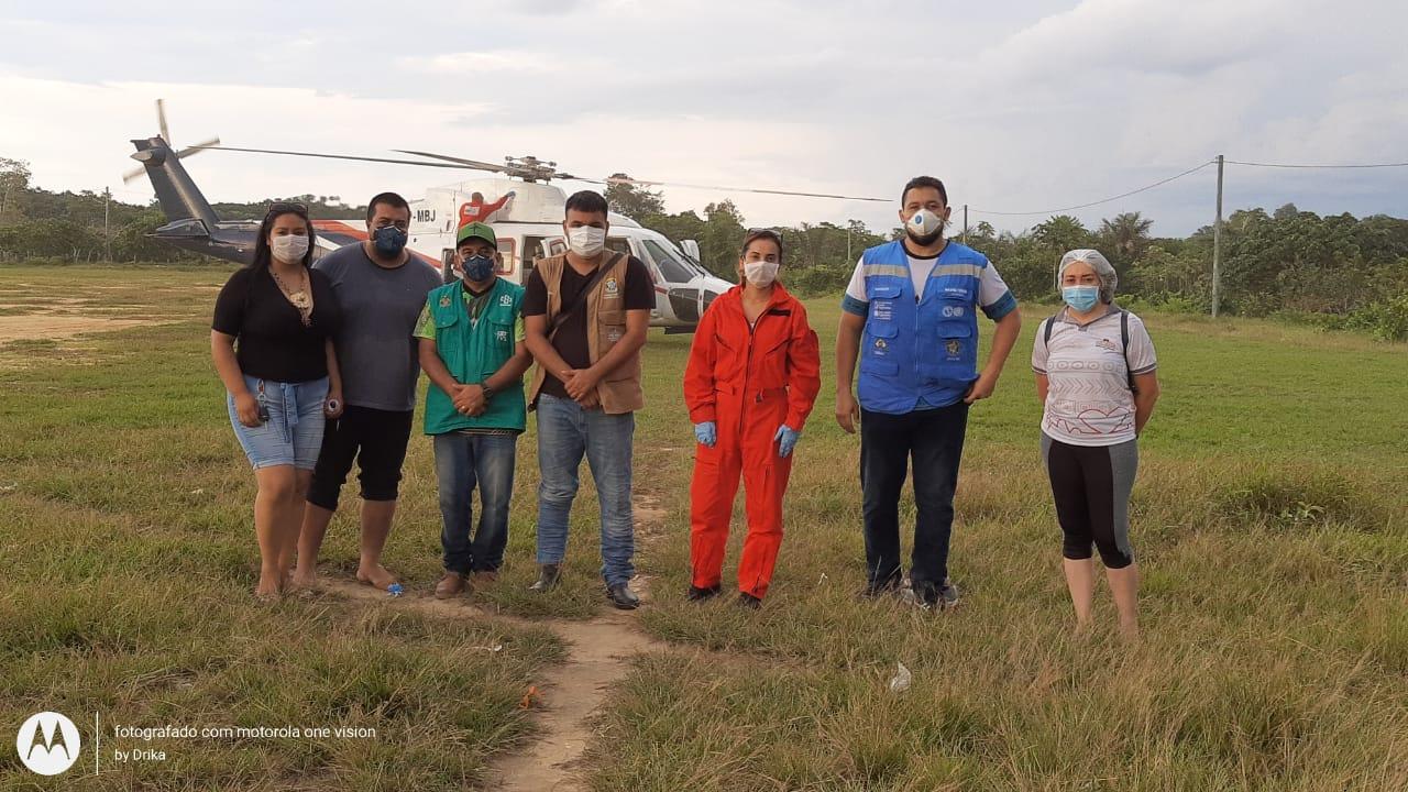 Sesai monitora aldeia indígena Tikuna para evitar casos de coronavírus na Amazônia