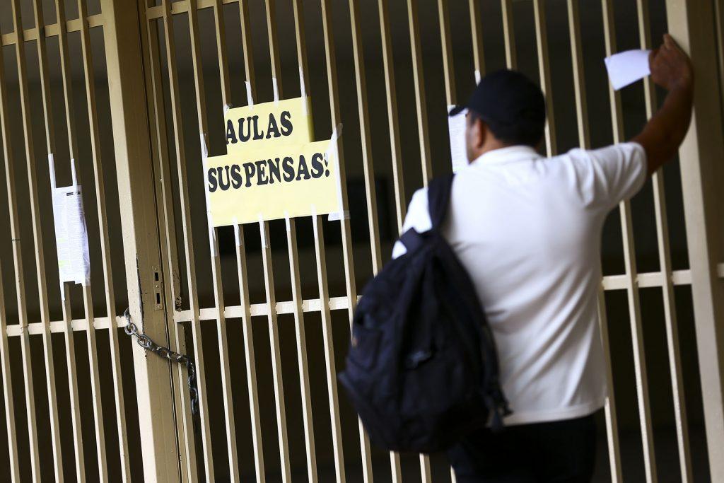 Governo do DF suspendeu aulas para evitar ampliação de casos do novo coronavírus (Marcelo Camargo/ABr/2020)