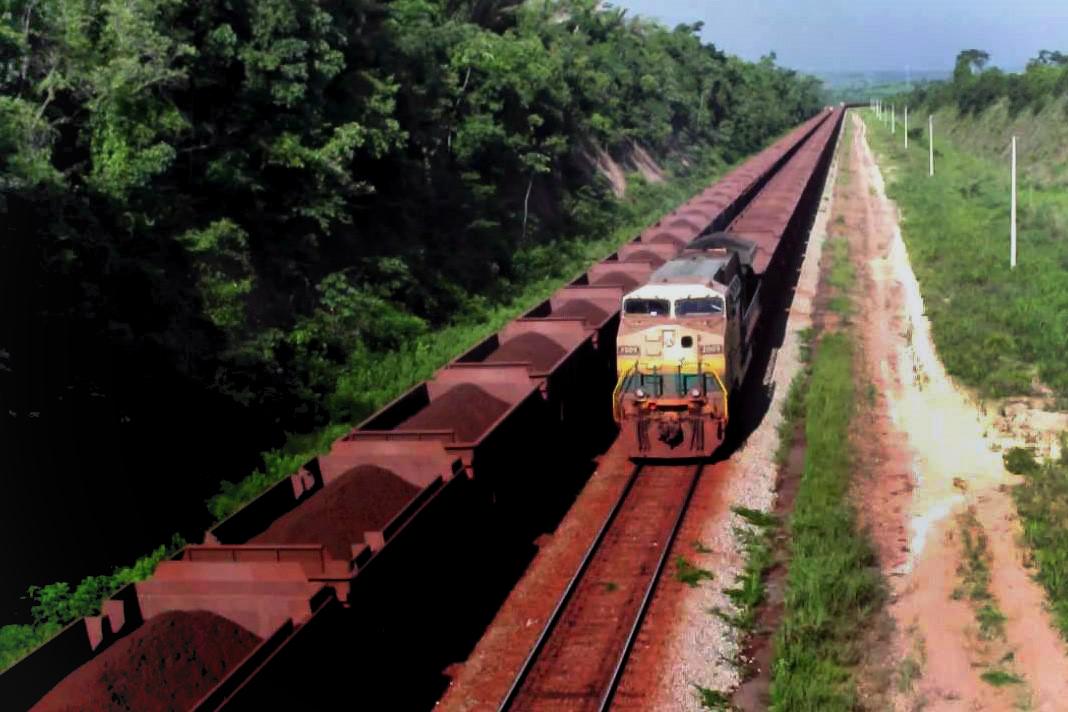 O trem parou no Pará