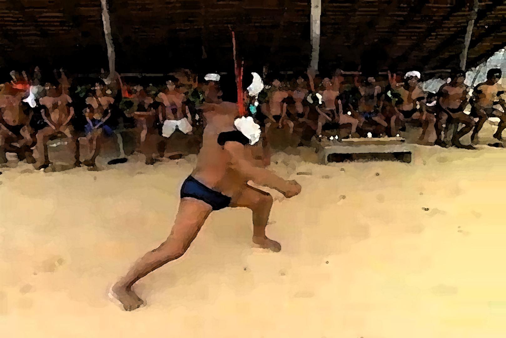 Sepultamento de Yanomami vítima da COVID-19