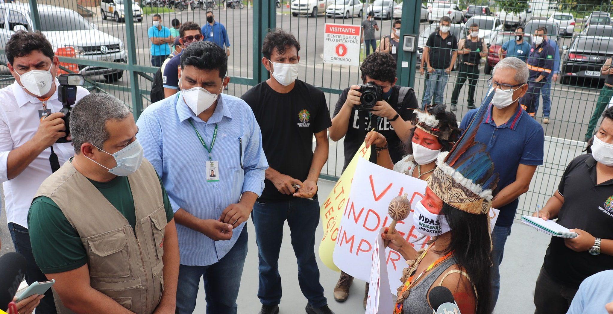 Coronavírus: como um protesto de três mulheres indígenas mudou o atendimento de saúde no Parque das Tribos