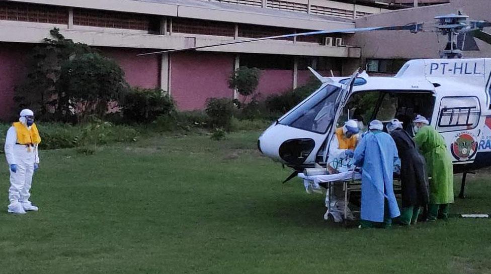 Pacientes com Covid-19 de Belém são tratados em Santarém, diz médico