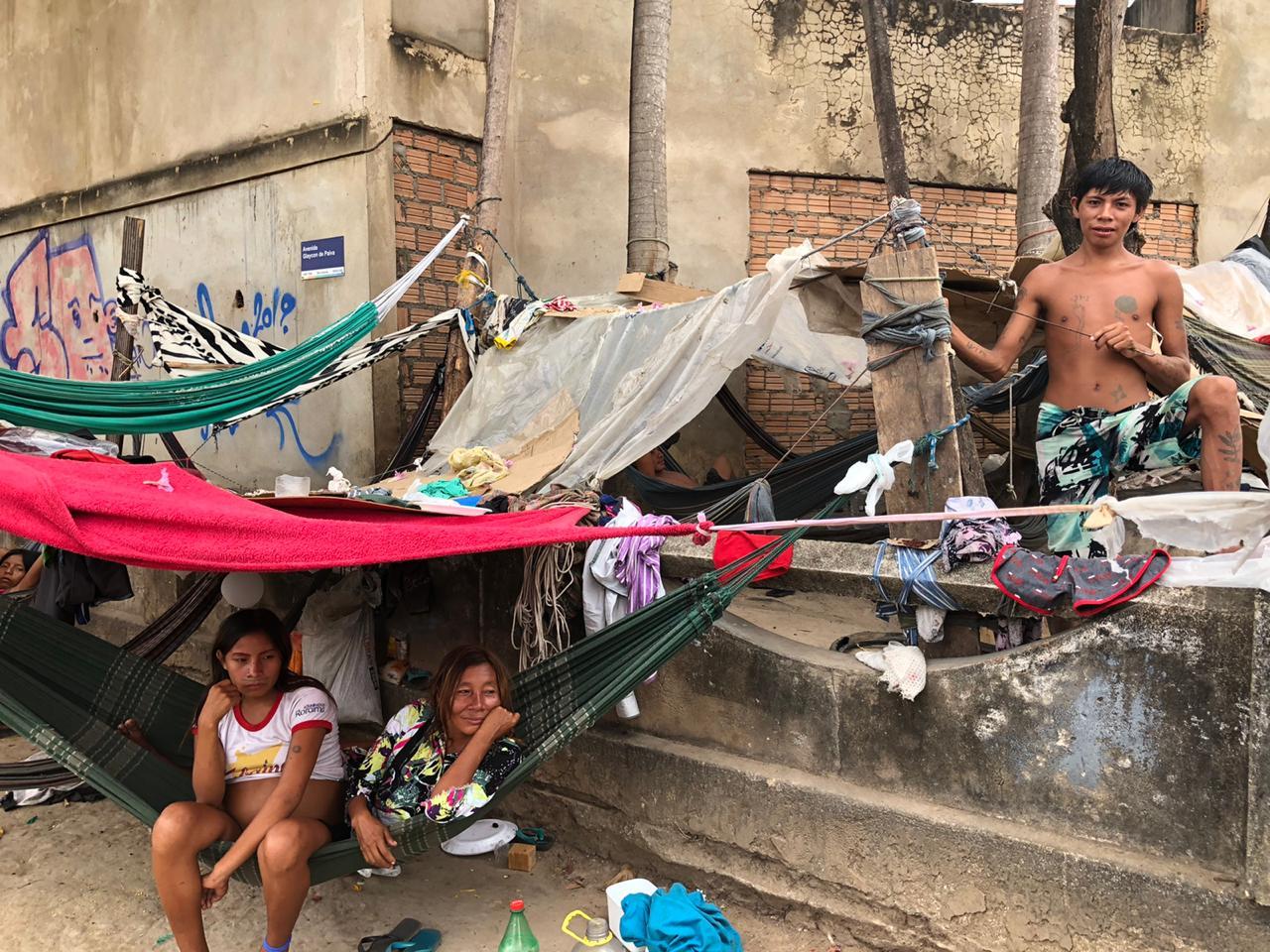 Os indígenas do Brasil pedem socorro contra a Covid-19