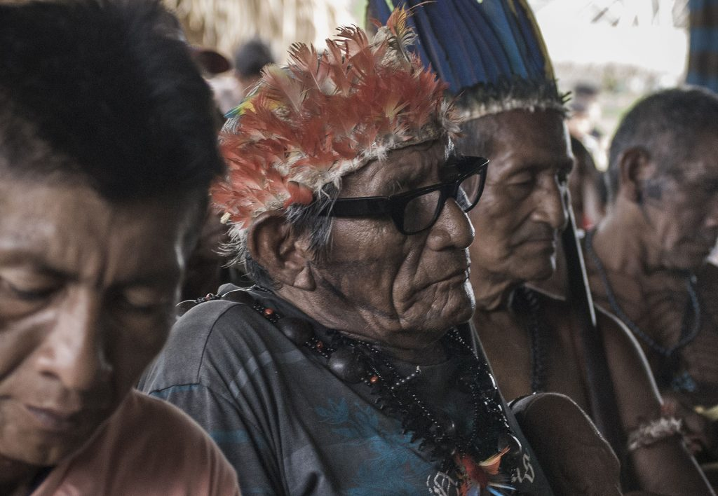 Cacique Vicente Saw Munduruku (Foto: Anderson Barbosa/Fractures