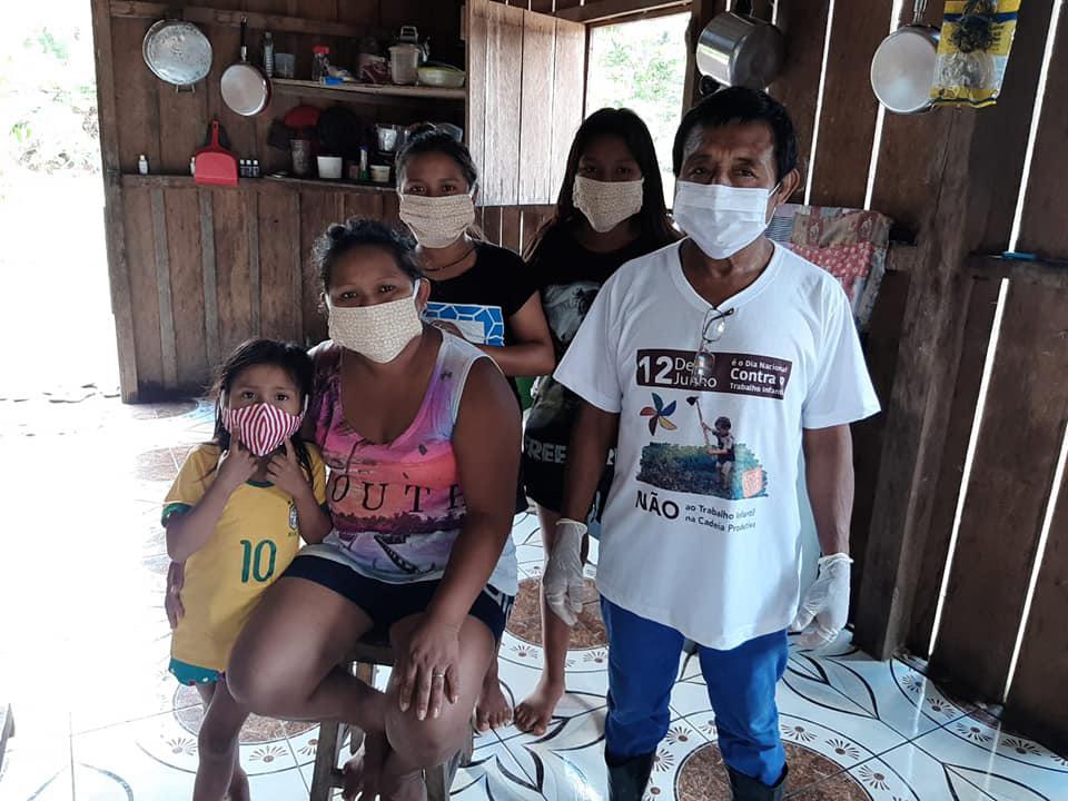 Coronavírus: Memória acesa nas perdas de mãe e filho Karitiana, em Rondônia