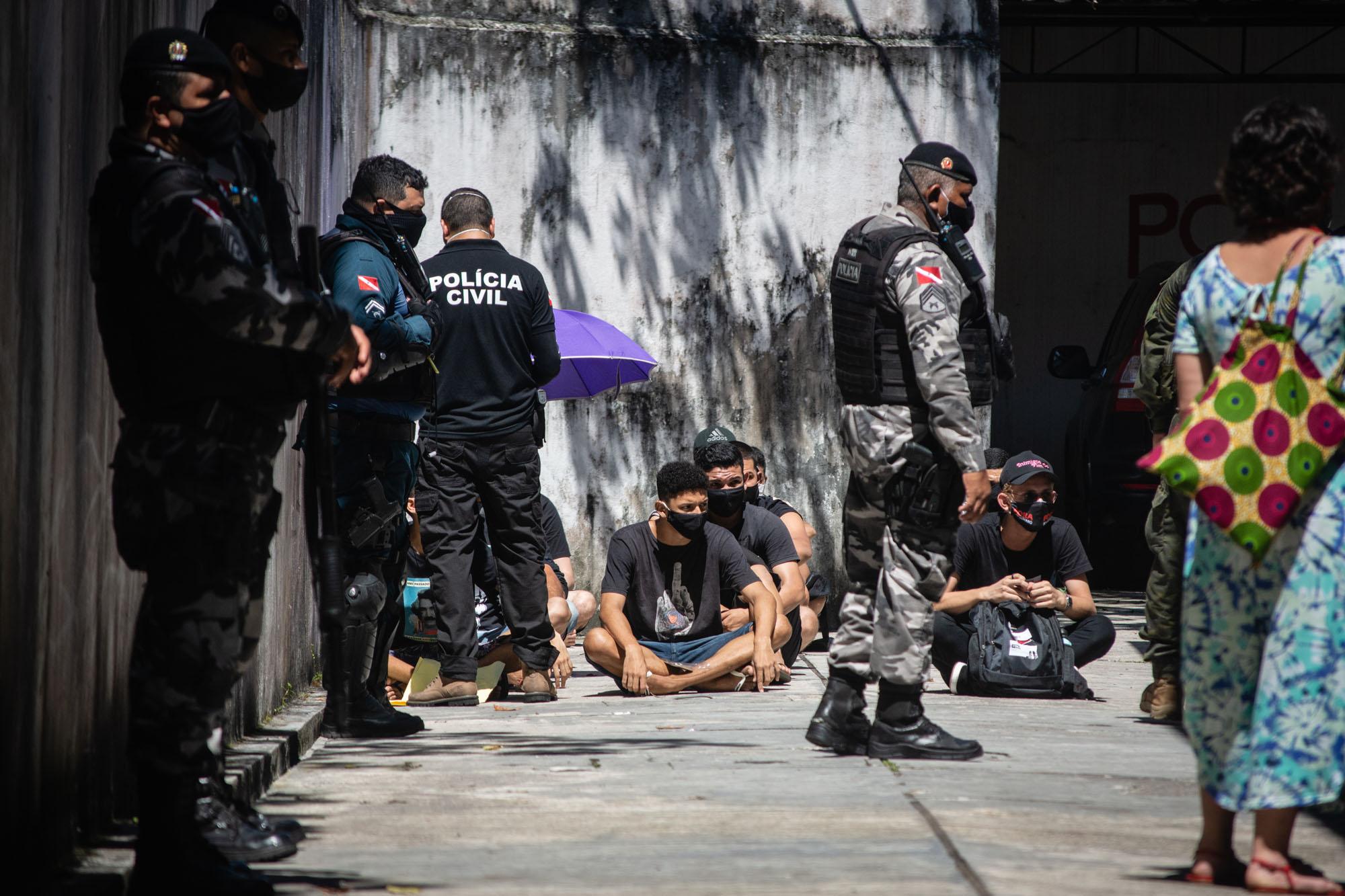 """Ato """"Vidas Negras Importam"""" é marcado por violações a jovens da periferia de Belém"""