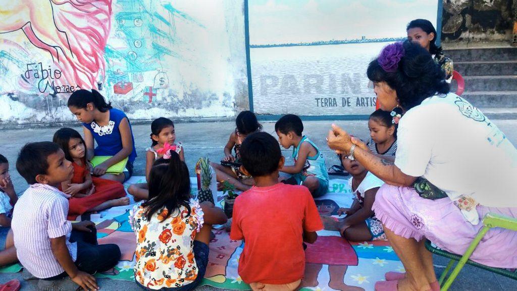 Roda das Crianças (Foto: Floriano Lins/Amazônia Real)