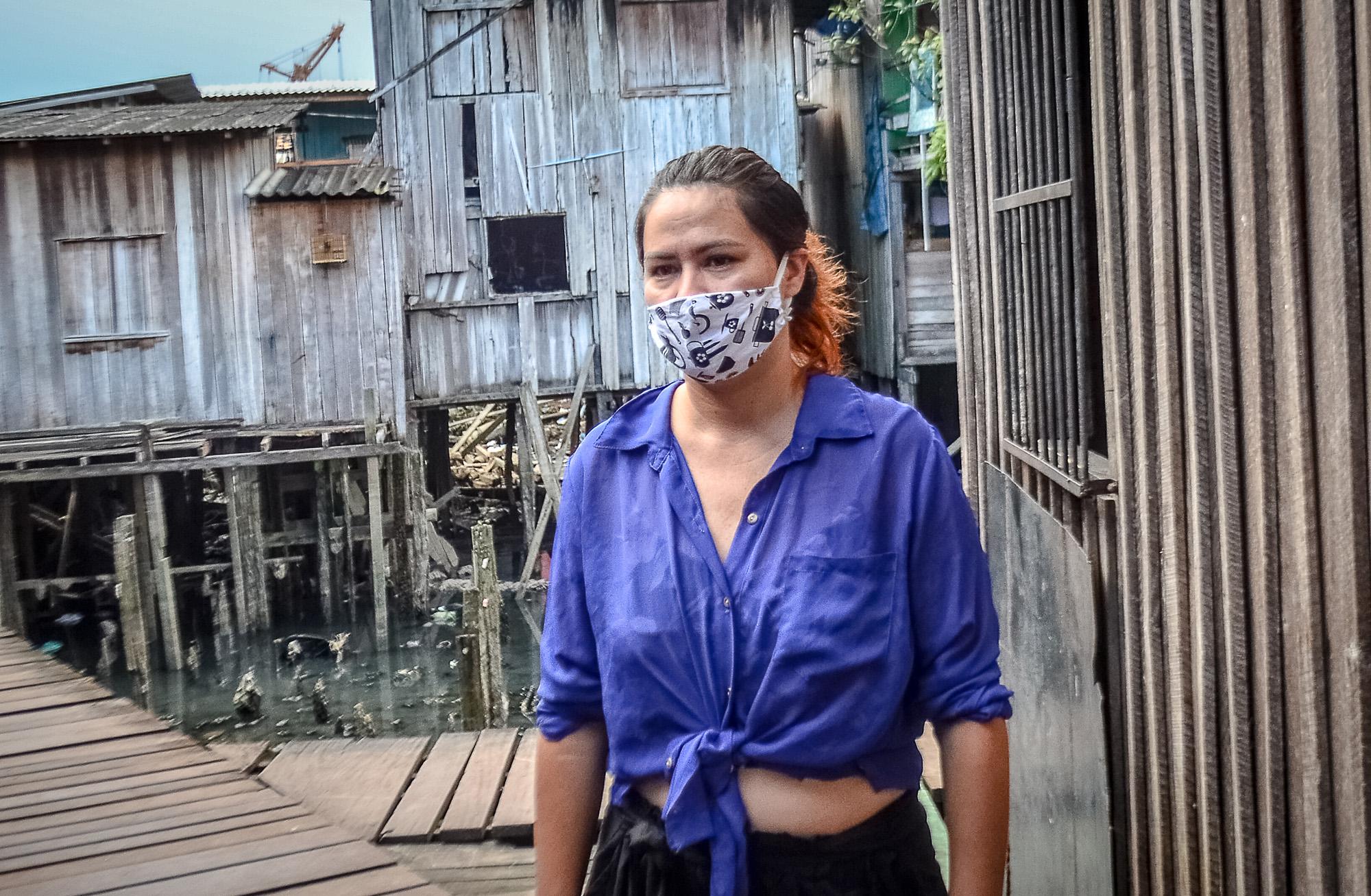 A Vila da Barca sofre o descaso e abandono em meio à pandemia do coronavírus