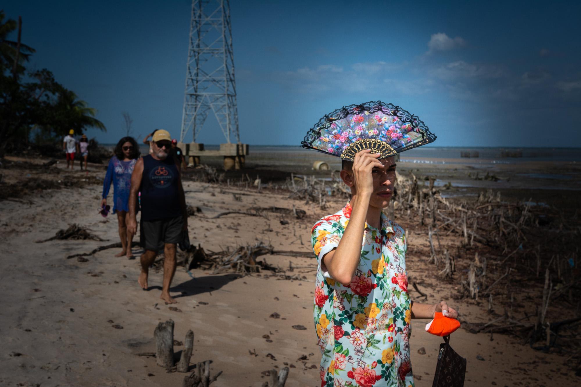 A barreira humana para impedir o coronavírus em Fortalezinha, no Pará