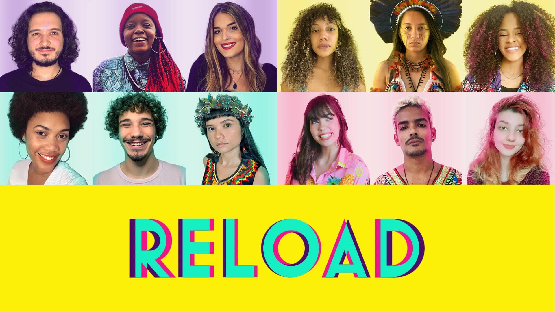 Dez mídias independentes lançam o Canal Reload para distribuir notícias a jovens