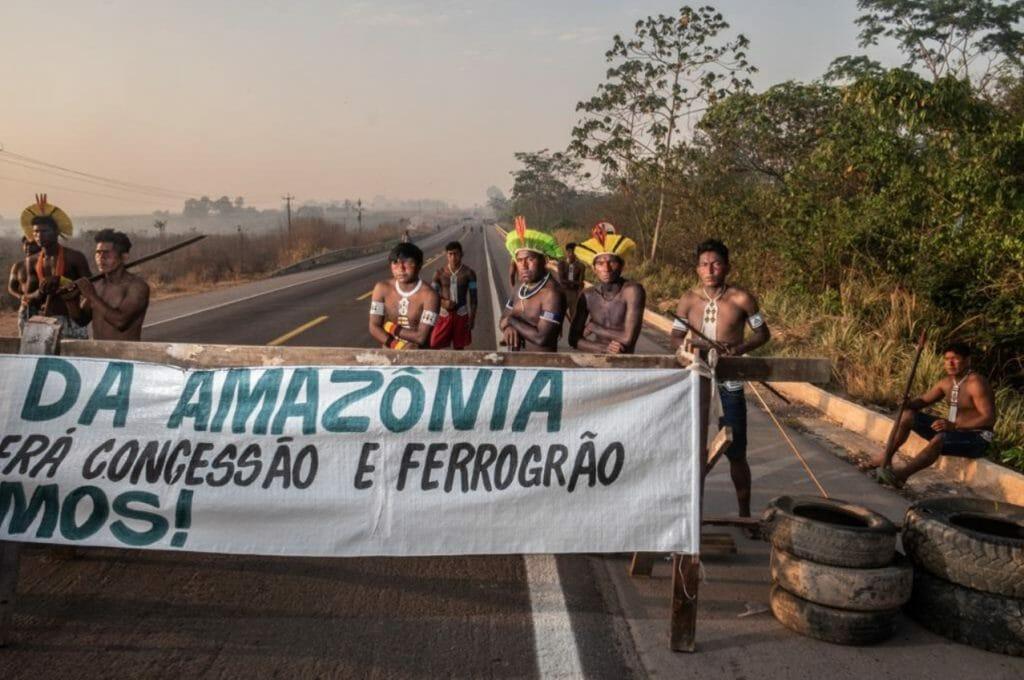 Os Kayapó Mekragnotire também temem a construção da ferrovia Ferrogrão.
