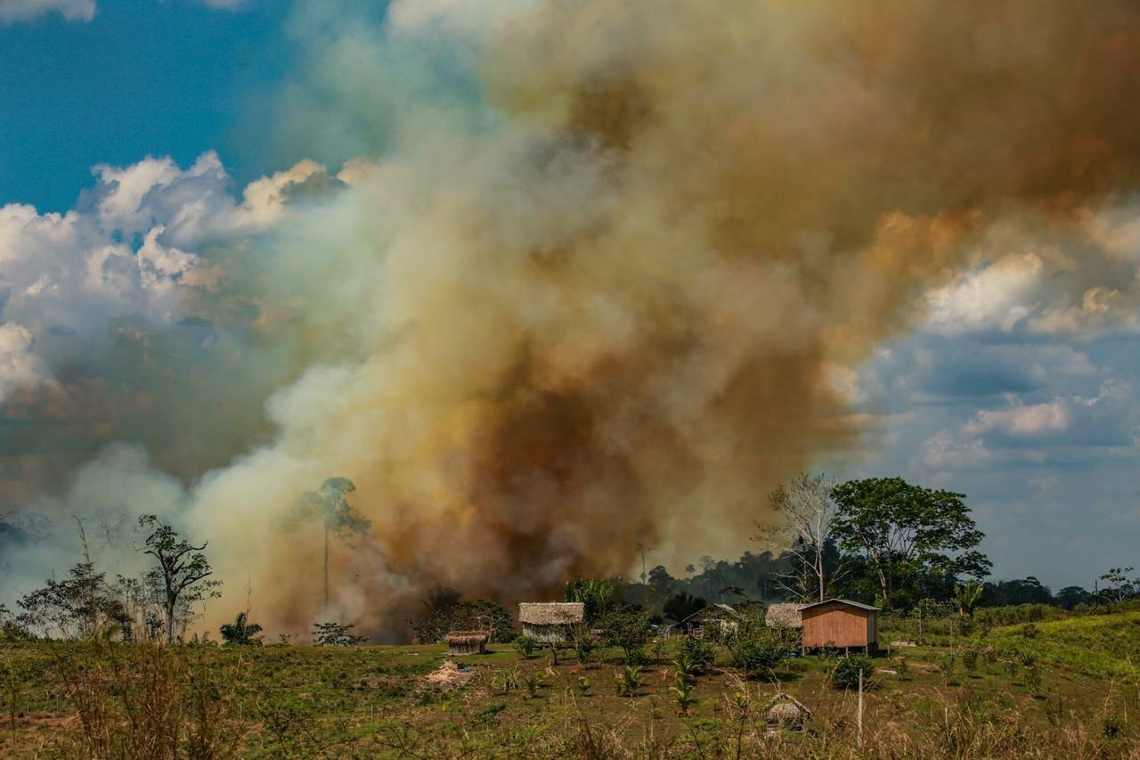 Amazônia em Chamas 20: Florestas do Acre podem ser mais afetadas por incêndios, diz Nasa