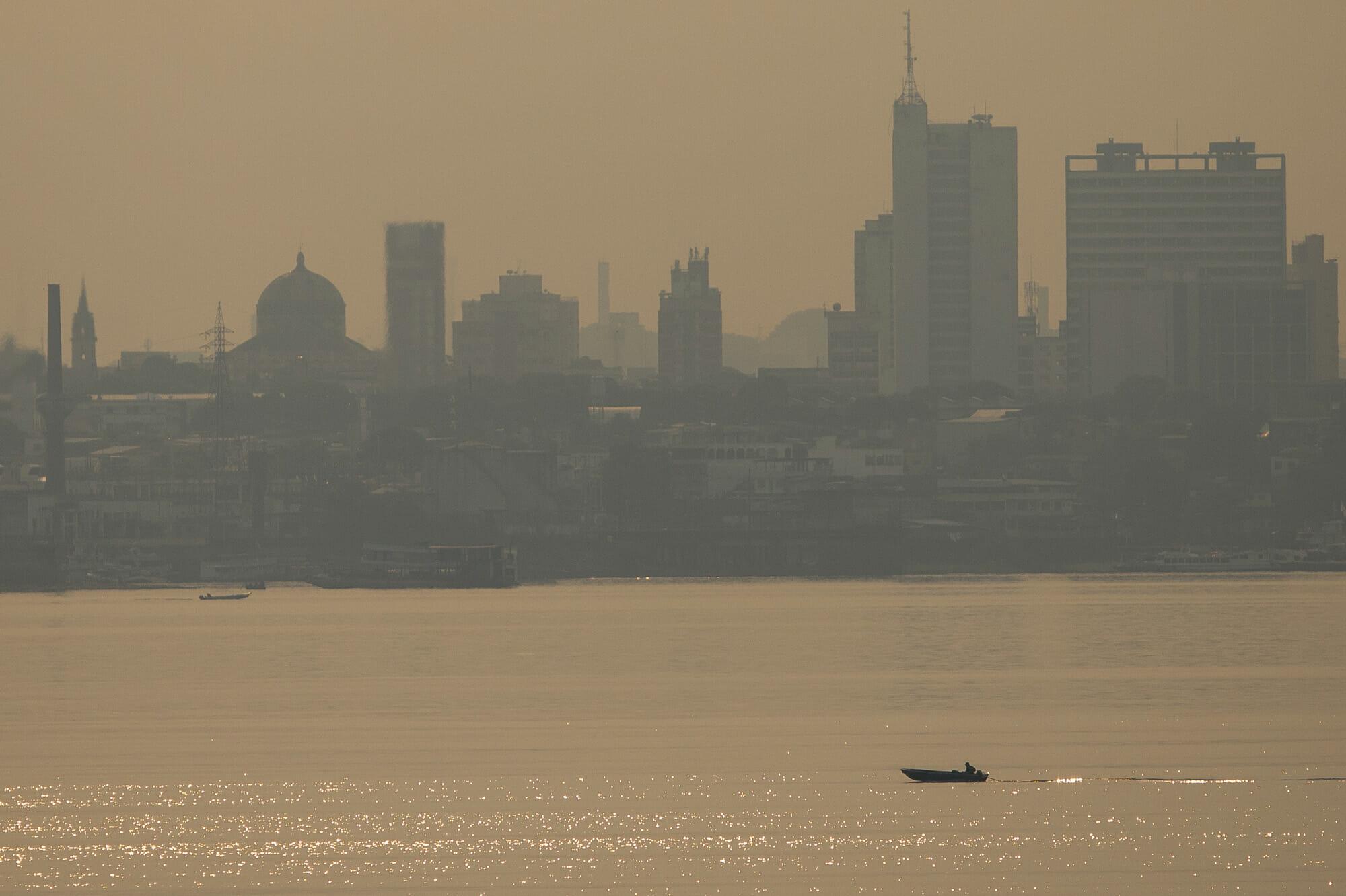 Amazônia em Chamas 20: Fumaça das queimadas encobre Manaus