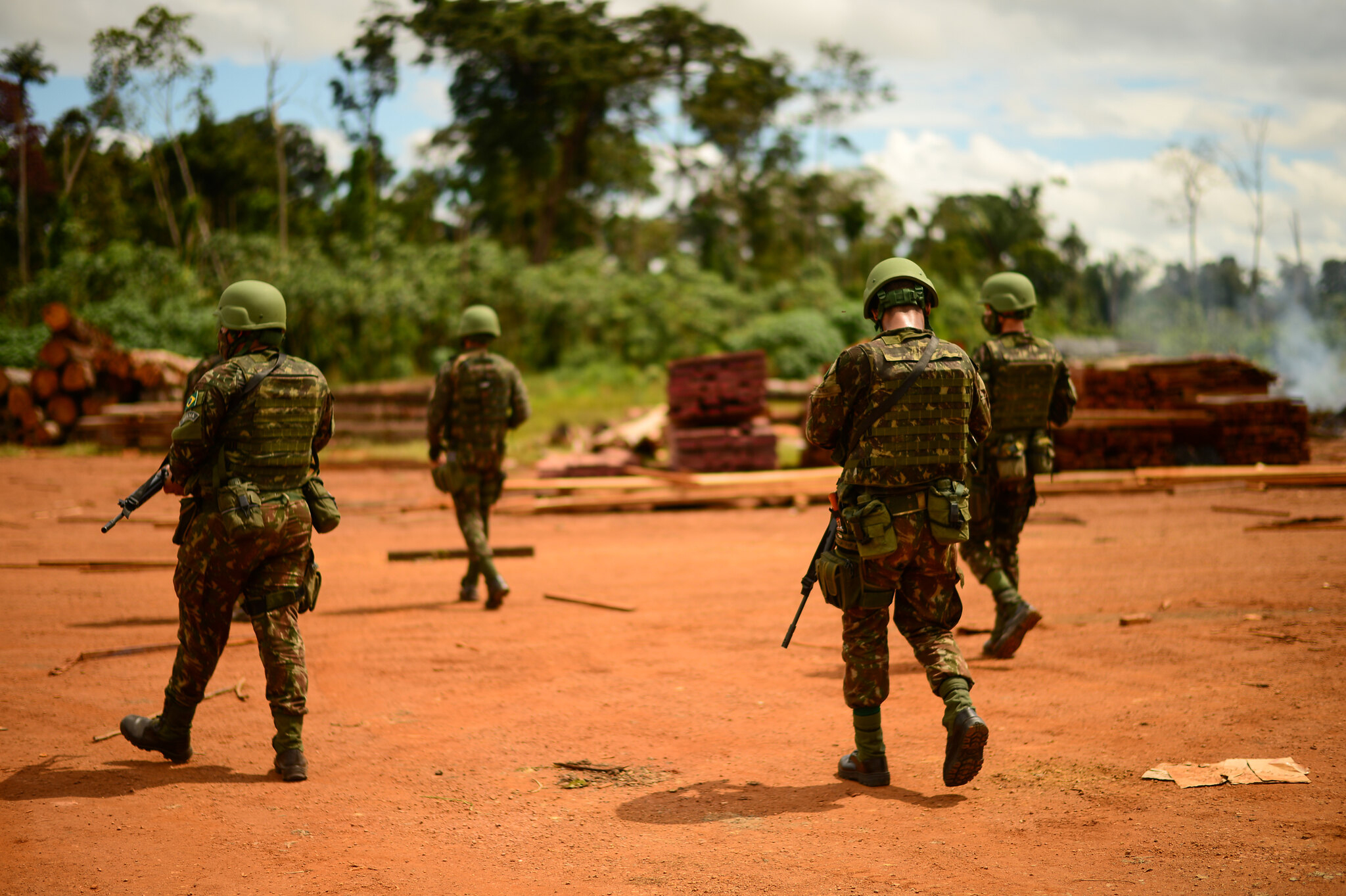 Amazônia mais militarizada