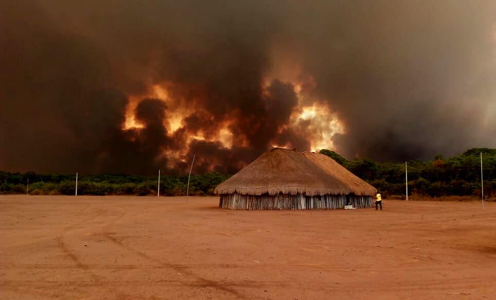 Amazônia em Chamas 20: Xingu é o território indígena com mais focos de queimadas no Brasil