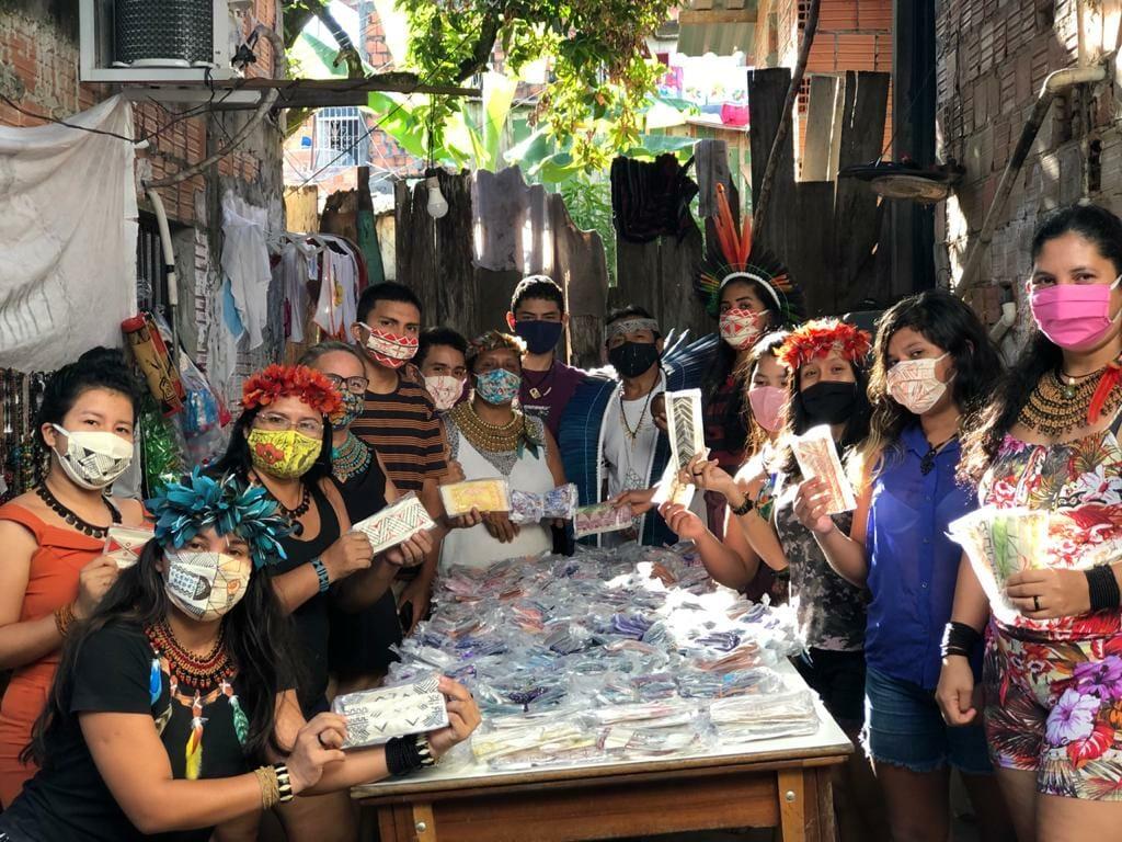 Em tempos de pandemia fizemos milhares de máscaras