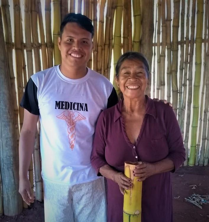 O neto de parteira Guarani e Kaiowá passou em medicina