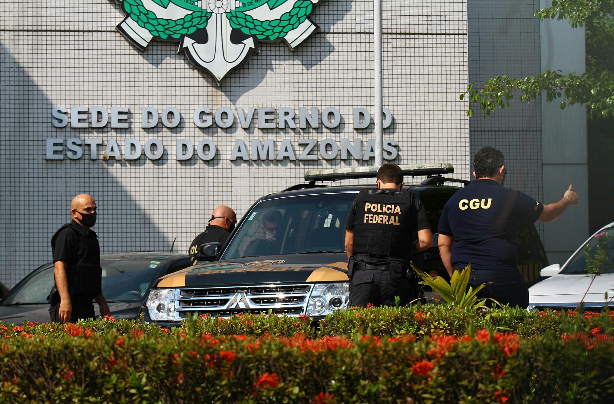 Operação Sangria: governador e vice do Amazonas estão na mira da Polícia Federal