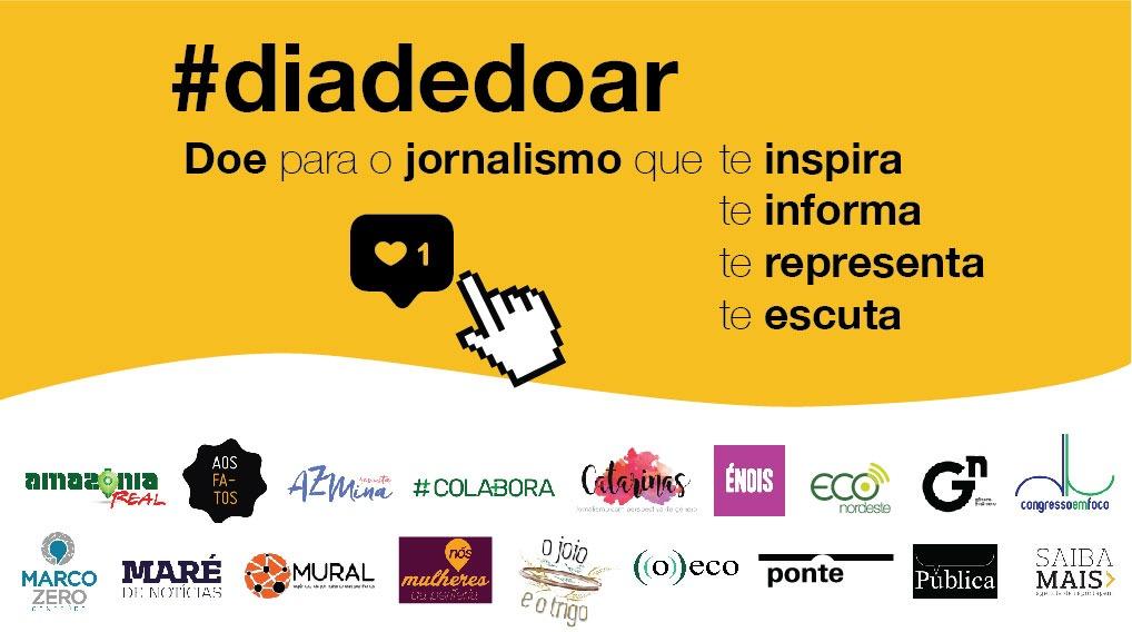 18 mídias digitais se unem para inspirar leitores no Dia de Doar