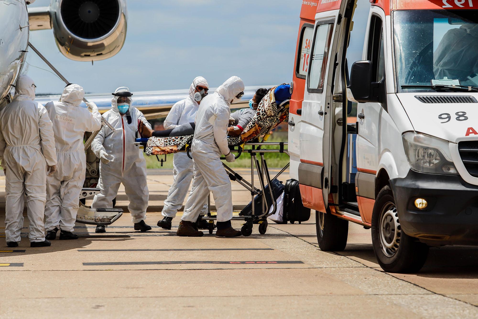 Caos na Pandemia: Pacientes transferidos chegam em estado grave em Teresina