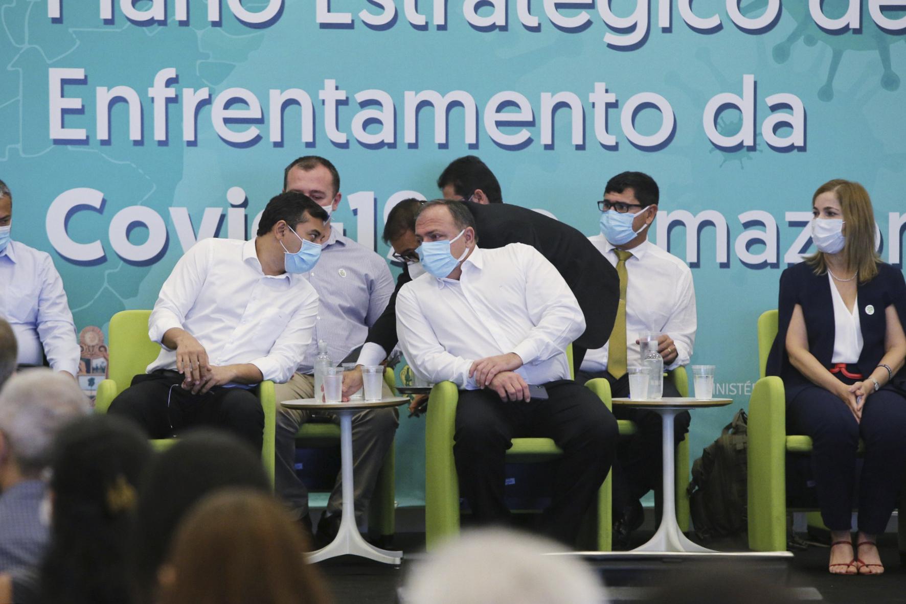 """Pandemia: Ministro da Saúde diz que prioridade na vacinação """"é o Brasil todo"""" e indica """"tratamento precoce"""" em Manaus"""