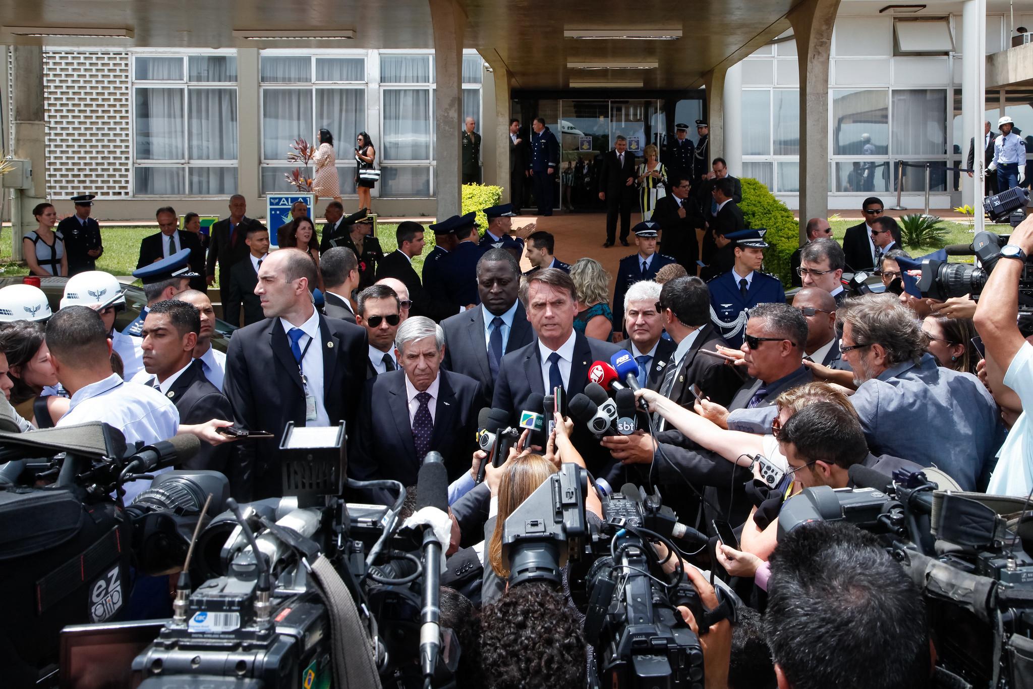 Bolsonaro lidera agressões a jornalistas