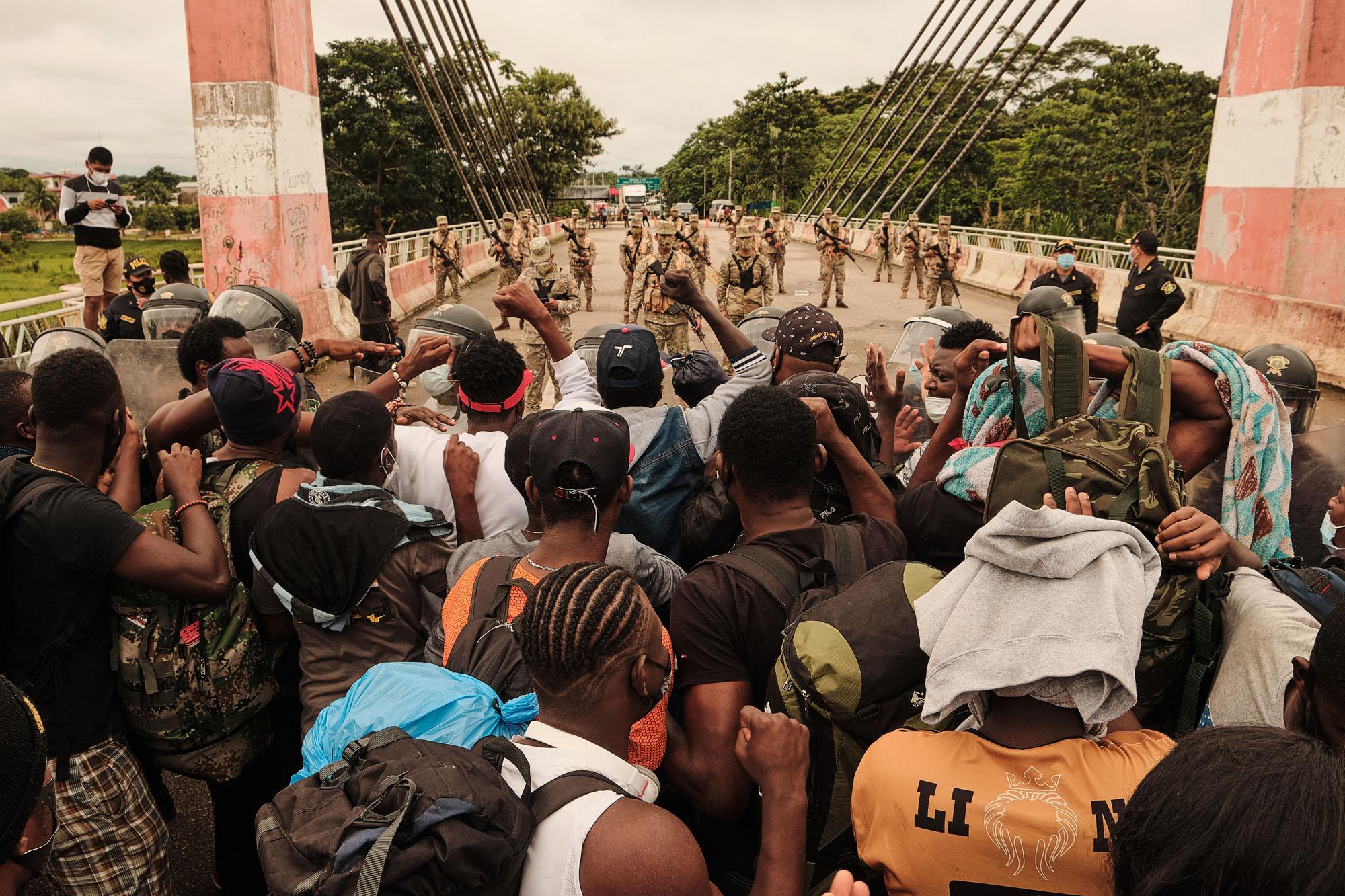 Caos na Pandemia: haitianos desistem do Brasil