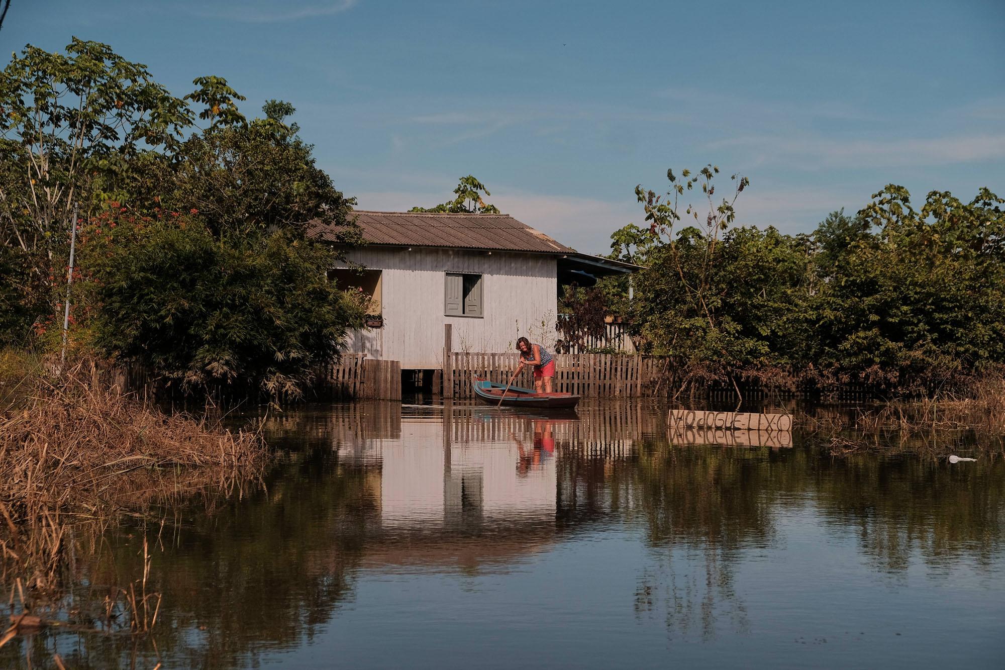 Cheias no Acre já atingem o Amazonas