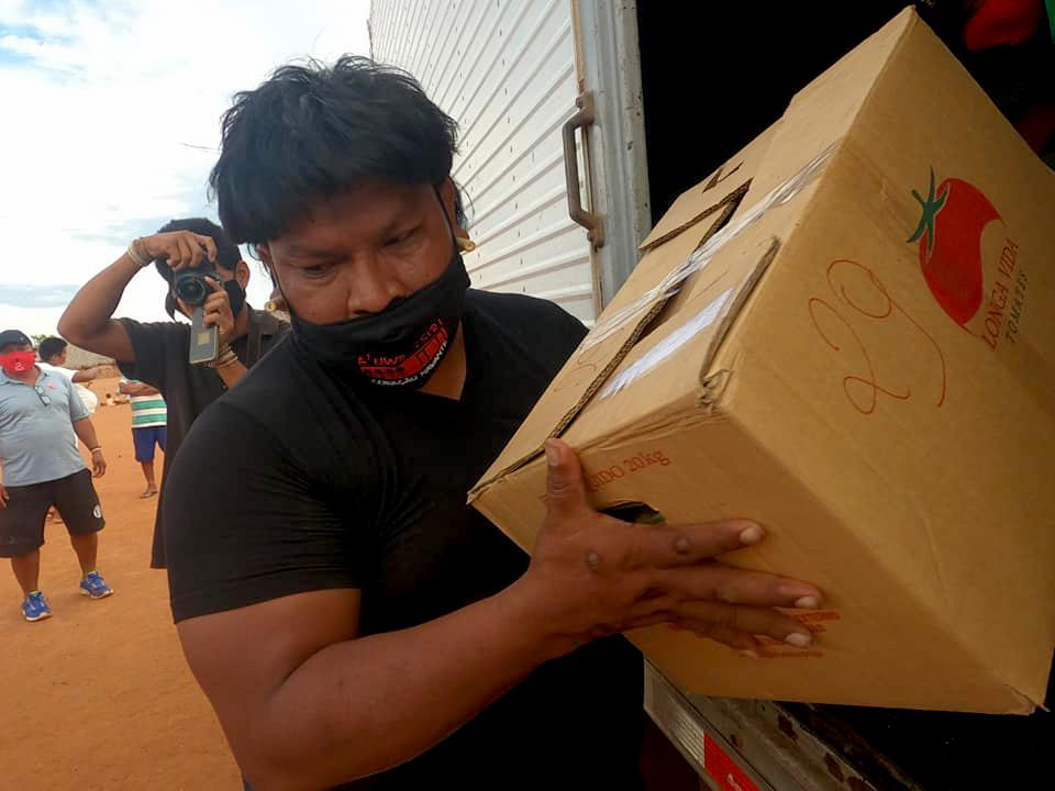 Um ano de pandemia: a solidariedade para os Xavante