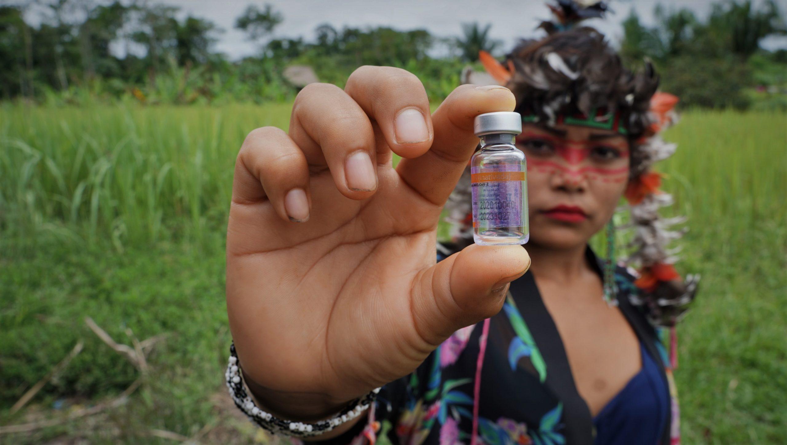 Acre e Rondônia vão imunizar indígenas não-aldeados