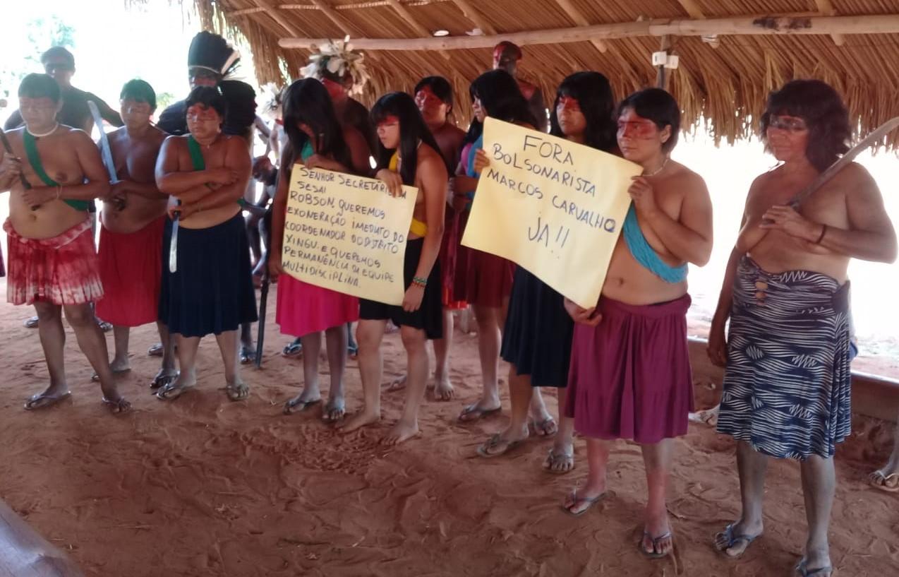Dsei Xingu desperdiça 320 doses da Coronavac